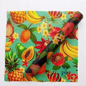 Frutas & Flores {Tecido de Cera * Kit com 2 G}