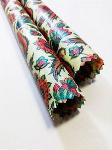 Folhas {Tecido de Cera * Kit com 2 P}