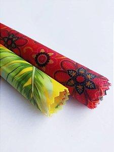 Hisbisco & Flores Mandala{Kit com 2 P/M}
