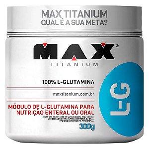 L-GLUTAMINA 300 G MAX TITANIUM