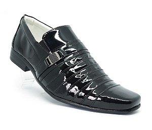 4637302b1 Sapato Social de Couro Marrom - Ma Calçados