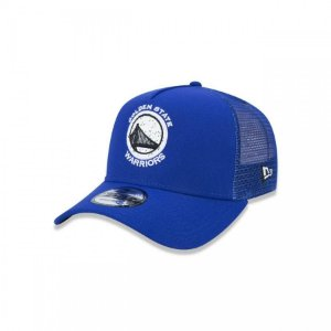 Boné New Era Trucker Golden State Warriors