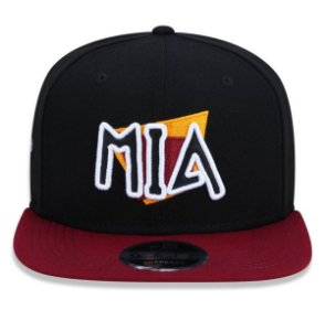 Boné New Era 950 Miami Heat Aba Reta