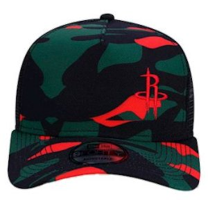 Boné New Era Trucker Houston Rockets