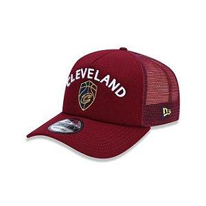 Boné New Era Trucker Cleveland Cavaliers