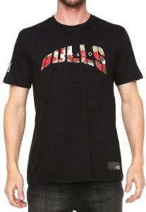 Camisa New Era Chicago Bulls