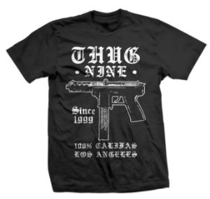 Camiseta Thug Nine Tech NIne