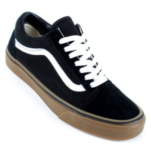 Tênis Vans Old Skool GumSole Preto Branco