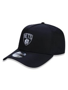 Boné New Era 940 Aframe Brooklyn Nets Preto