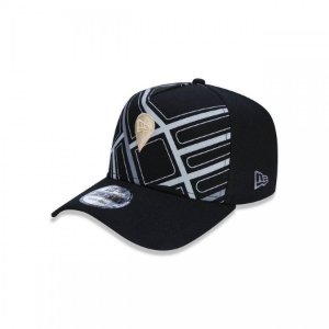 Boné New Era 940 Branded Snapback Preto