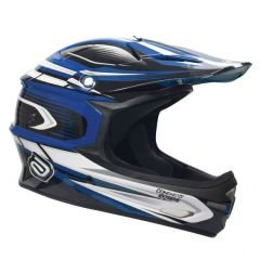 CAPACETE DH ASW EXTREME - AZUL  TAMANHO G
