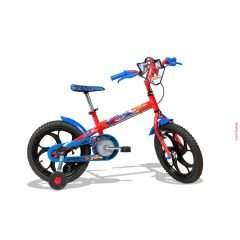 BICICLETA CALOI SPIDERMAN