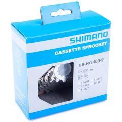 CASSETE 9VEL. CS-HG400 11/28D SHIMANO