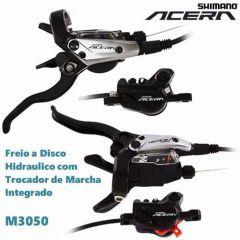 FREIO A DISCO HIDRÁULICO SHIMANO ACERA BR-M3050 c/ ALAVANCA
