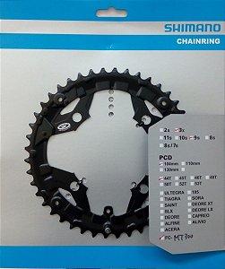 ENGRENAGEM SHIMANO FC-MT300 44T 3X9 PCD 104MM