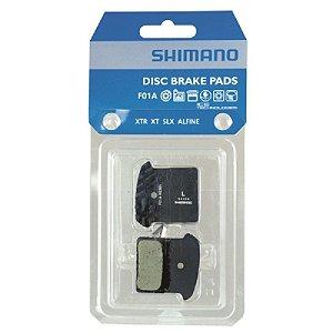 PASTILHA SHIMANO RESINA ICE TECH F01A XTR/XT/SLX/ALFINE