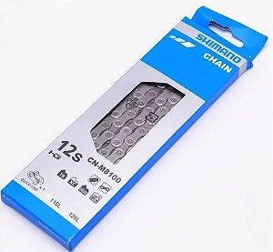 CORRENTE SHIMANO DEORE XT CN-M8100 12 VEL. COM QUICK LINK