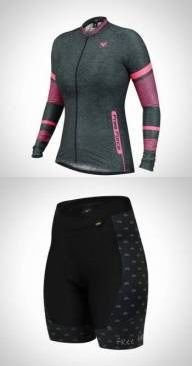 CONJUNTO CAMISA JOINT + BERMUDA SPORT CYCLES FREE FORCE TAM. M