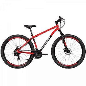 Bicicleta  Caloi Supra Aro 29 Vermelha