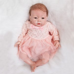 Boneca Reborn Menina, Bebe Reborn Silicone Premium Pronta Entrega