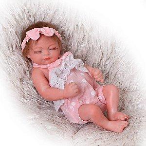 Bebe Reborn, Menina, 27 CM Mini Bebe Reborn