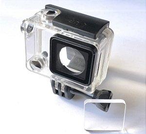 Lente Protetor Acrílico Para Suporte Gopro Firefly E Outros Lente 4mm
