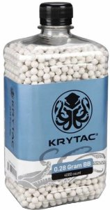 Bbs Airsoft Krytac 0.28g pct 4000un