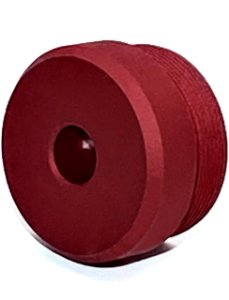 Ponteira Vermelha para Silenciador Airpress 35mm x 20mm V1