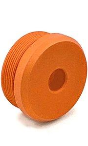 Ponteira Laranjada para Silenciador Airpress 35mm x 20mm V1