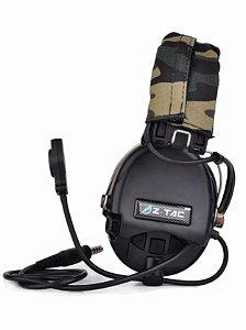 Headset Z-Tac Sordin Fone Tático Z111