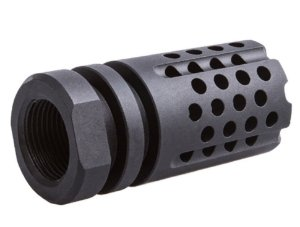 Flash Hider Airsoft 14mm Rosca Esquerda