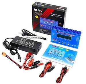Carregador Inteligente LiPro iMax B6 com Fonte