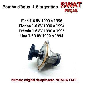 Bomba d'gua 1.6  Elba/Fiorino/Prêmio/Uno sem polia