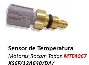 SENSOR DE TEMPERATURA DO MOTOR ZETEC TODOS KA FIESTA ECOSPORT XS6F12A648BA