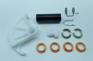 KIT REPARO PEDAL CATRACA EMBREAGEM - ESCORT HOBBY - 541721947 - CX