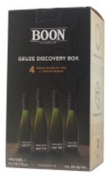 GEUZE DISCOVERY BOX 4 x 375ml