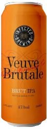 INFECTED BREWING VEUVE BRUTALE IPA BRUT 6ABV LT 473ml
