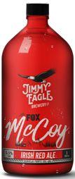 JIMMY EAGLE FOX McCOY IRISH RED ALE 5.5ABV growler 1000ml