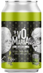 VÓ MARIA IN CONCERT 350 INDIA PALE LAGER 6.1ABV LT 350.ml