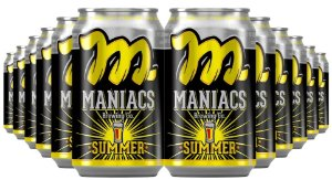 12x MANIACS SUMMER SESSION PALE ALE 4.7ABV LT 350ml