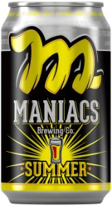 MANIACS SUMMER SESSION PALE ALE 4.7ABV LT 350ml
