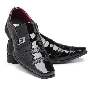 Sapato Social Masculino Em Verniz Schiareli 803