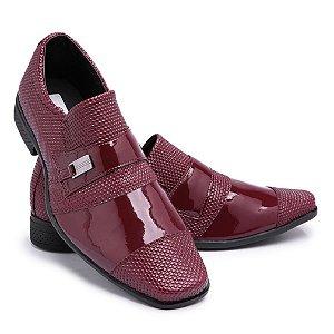 Sapato Social Masculino Em Verniz Schiareli 734