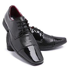 Sapato Social Masculino Em Verniz Schiareli 801