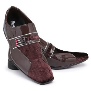 Sapato Social Masculino Em Verniz Bikarelo 110
