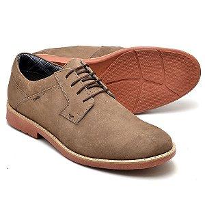 Sapato Casual Masculino Couro Fóssil Reta Oposta Oxford 33