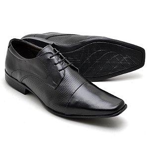 Sapato Social Masculino Em Couro Legitimo Reta Oposta 7572