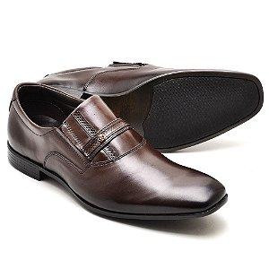 Sapato Social Masculino Em Couro Legitimo Reta Oposta 7590