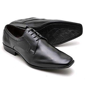 Sapato Social Masculino Em Couro Legitimo Reta Oposta 9904