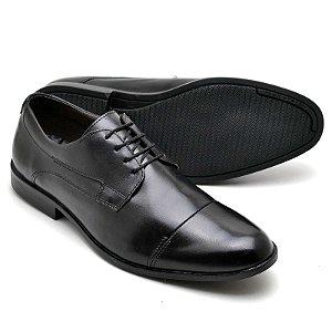 Sapato Social Masculino Em Couro Legitimo Reta Oposta 16800
